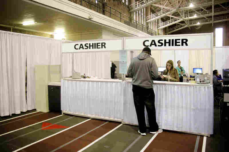 People who owed thousands of dollars in court fines and fees received significant reductions in what they owed. A cashier was set up so the fees could be paid immediately.
