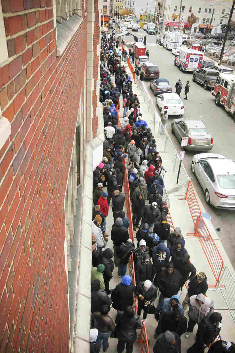 During the four-day Fugitive Safe Surrender program, more than 4,500 people turned themselves in.