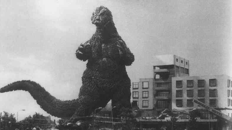 Godzilla's original 1954 roar was created by composer Akira Ifukube, who dragged a resin-coated leather glove along the loosened strings of a double bass.