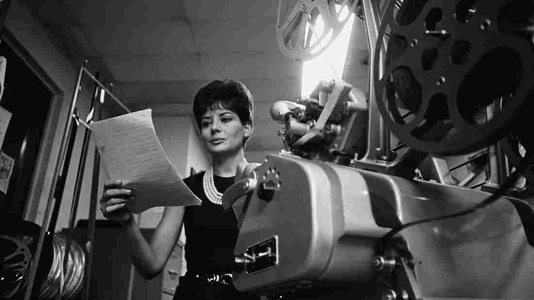 NBC News' Barbara Walters in 1965.