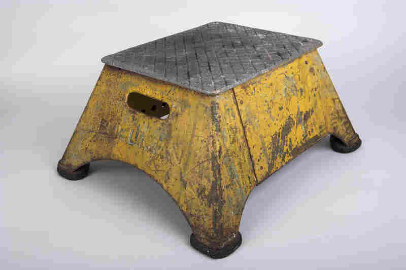 This stepstool was used by Pullman porters, black railroad sleeping car attendants in the early 20th century. The porters spread copies of The Chicago Defender, a leading black newspaper, throughout the South, helping to promote the Great Migration of blacks to the North.