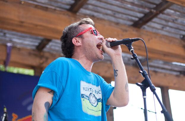 Puerto Rican rocker AJ Davila.