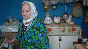 Anna Matveevna came to this communal apartment in St. Petersburg in 1931, when she was 8 years old.