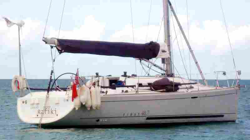 The missing yacht Cheeki Rafiki disappeared on Saturday with four experienced offshore sailors aboard.