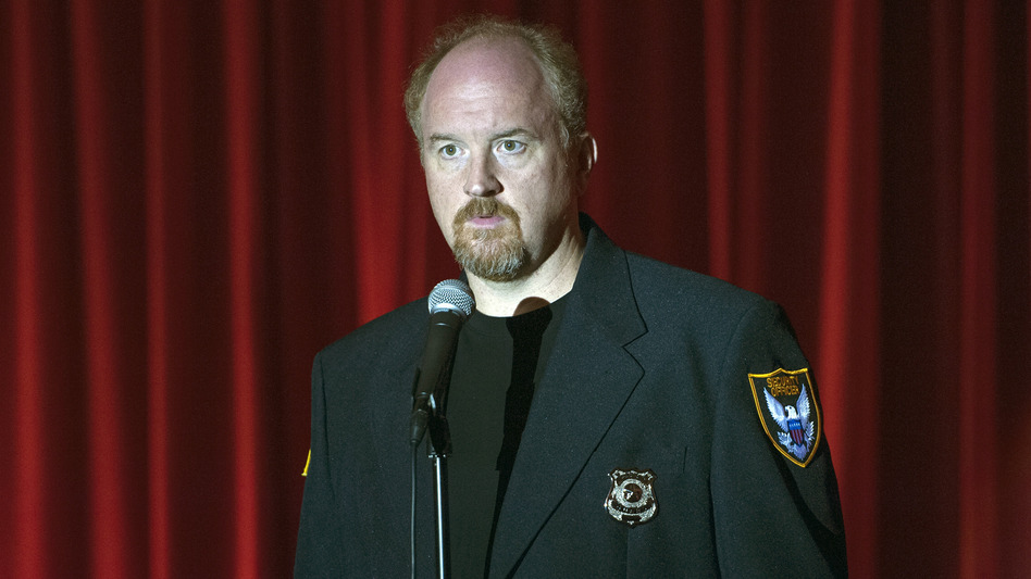 In <em>Louie</em>, Louis C.K. plays a comic who finds comedy in uncomfortable, touchy topics. (K.C. Bailey/FX)