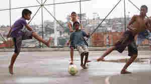 For Brazil's Soccer Stars, Careers Often Begin On Makeshift Fields