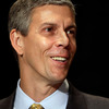 U.S. Education Secretary Arne Duncan isn't going to be an NPR Ed regular. Except when he is.