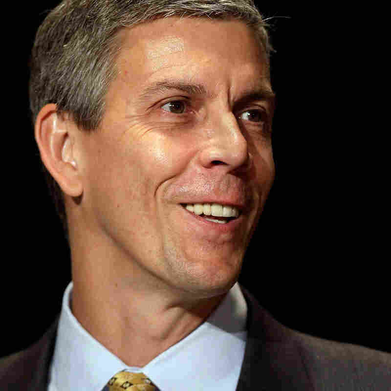U.S. Education Secretary Arne Duncan isn't going to be an NPR Ed regular. Except when he is.