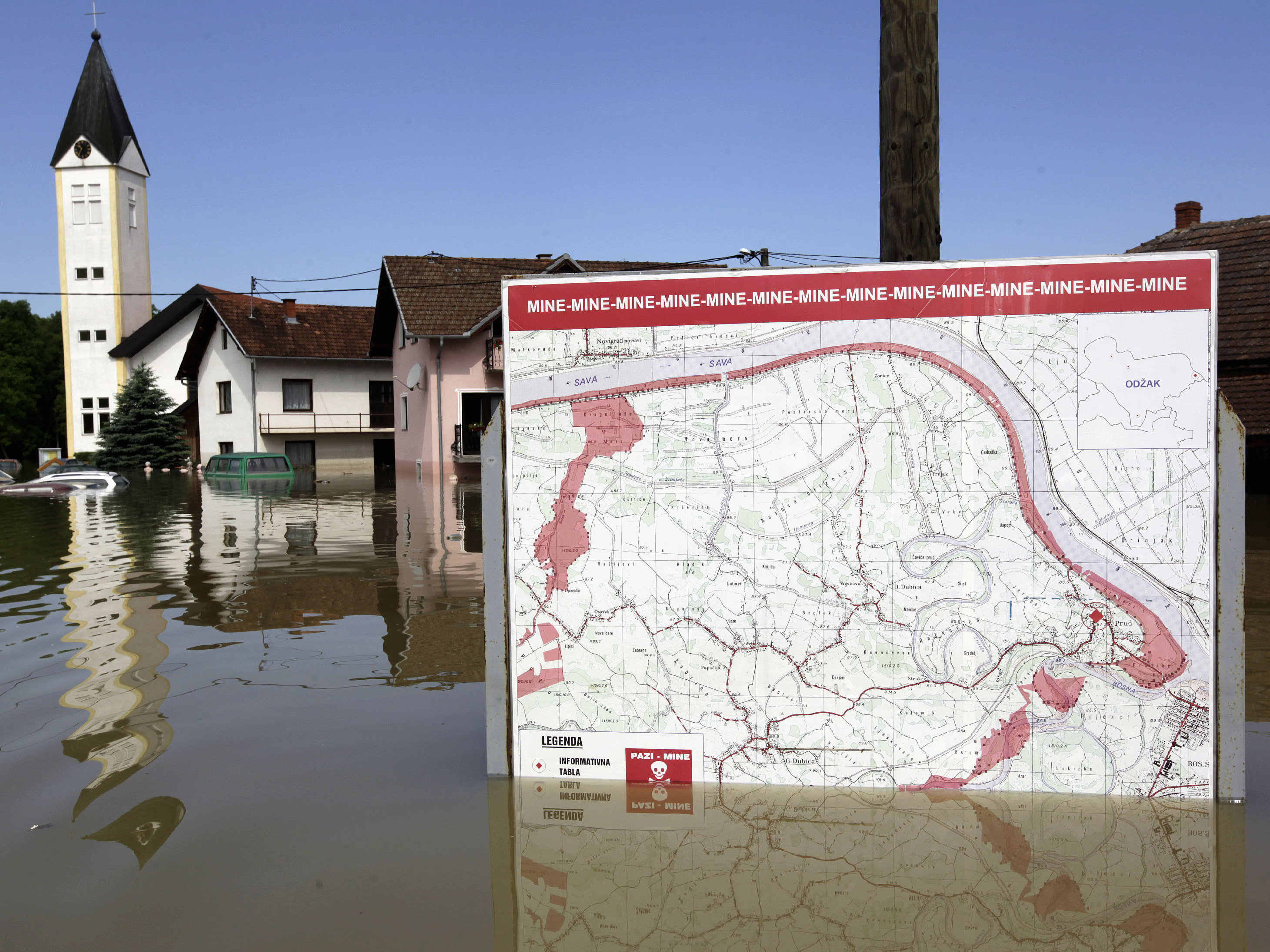 Balkan Floods Expose Deadly Mines From 1990s Civil War