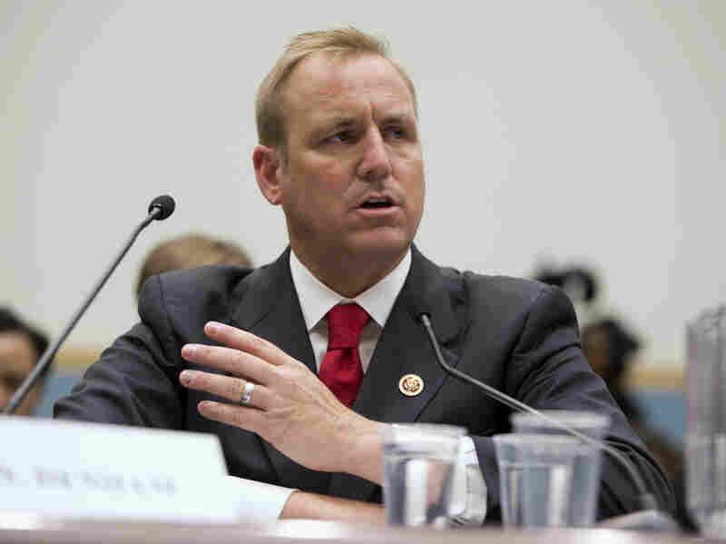 Rep. Jeff Denham, R-Calif., testifies in July 2013 on Capitol Hill before the House Judiciary Subcommittee on Immigration and Border Security hearing.