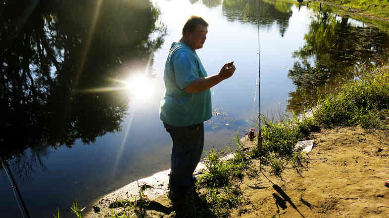 Kyle Dewitt was sentenced to three days in jail after he was unable to pay fees associated with catching a fish out of season.