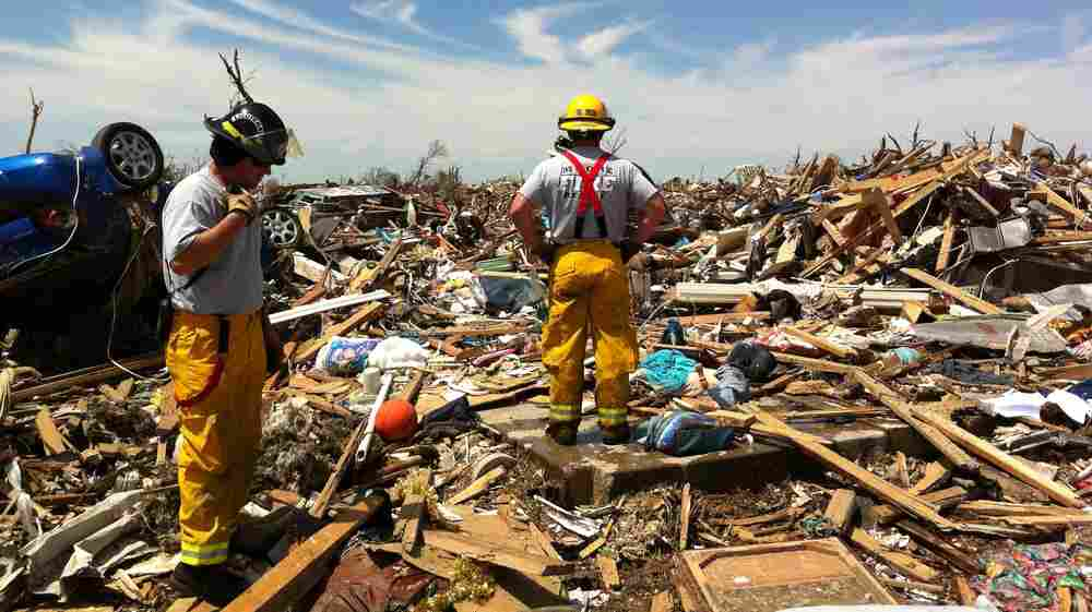 Storm Shelter App Helps Pinpoint People Amid Tornado's Rubble