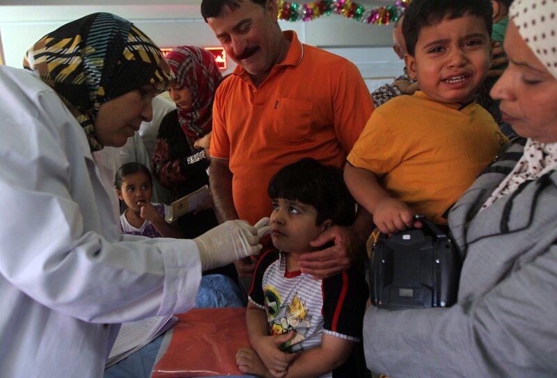 Attack mot vaccinatorer i pakistan