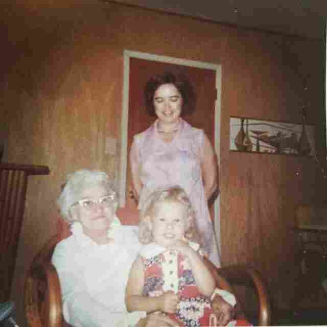 """Faren Shear, 2, with her mother and grandmother. """"Every Mother's Day, I tell someone how I was nearly 25 before I realized every 'memory' I have of my mom is actually from photographs I had stared at for years."""""""