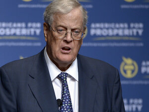 David Koch is one-half of politically and economically powerful duo known as the Koch brothers. He and his brother, Charles, are tied in sixth place on the list of the wealthiest men on the planet.