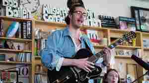 Hozier performs a Tiny Desk Concert.