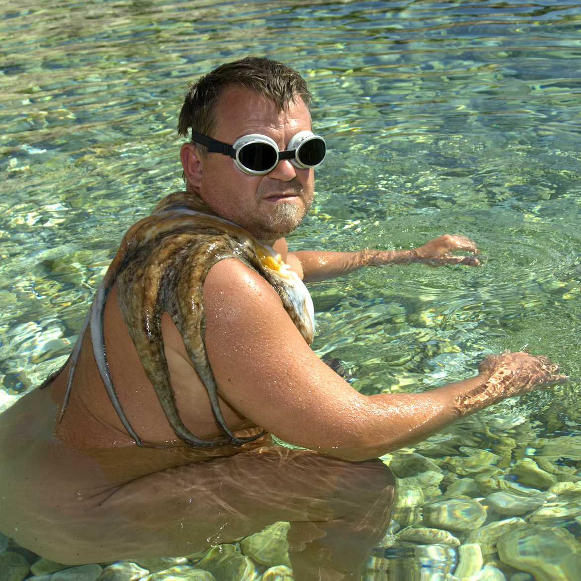 "The creators of the online game decided this stock photo, which they dubbed a ""43-year-old captain of the Norwegian synchronized swimming team,"" would get doctors' attention."