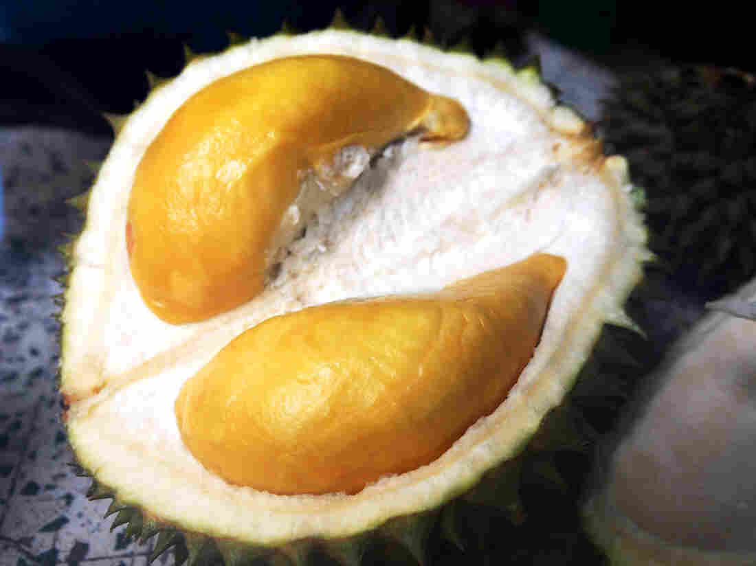 """According to Gasik, the Puangmanee durian's flesh has """"a smooth, chocolatey sensation."""""""