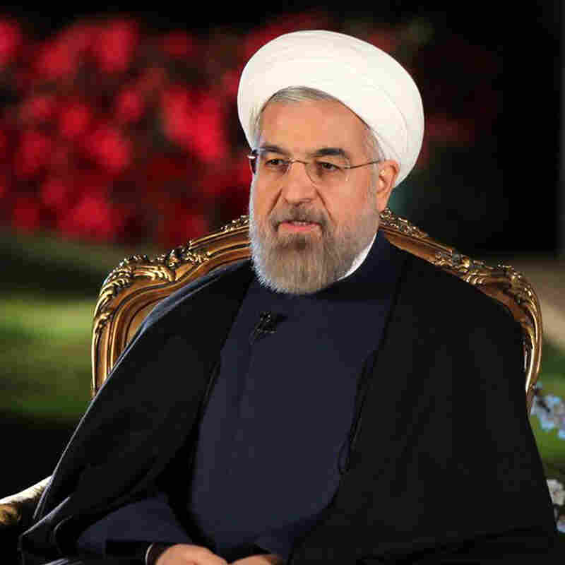 Iranian President Hassan Rouhani, shown in Tehran on March 20.