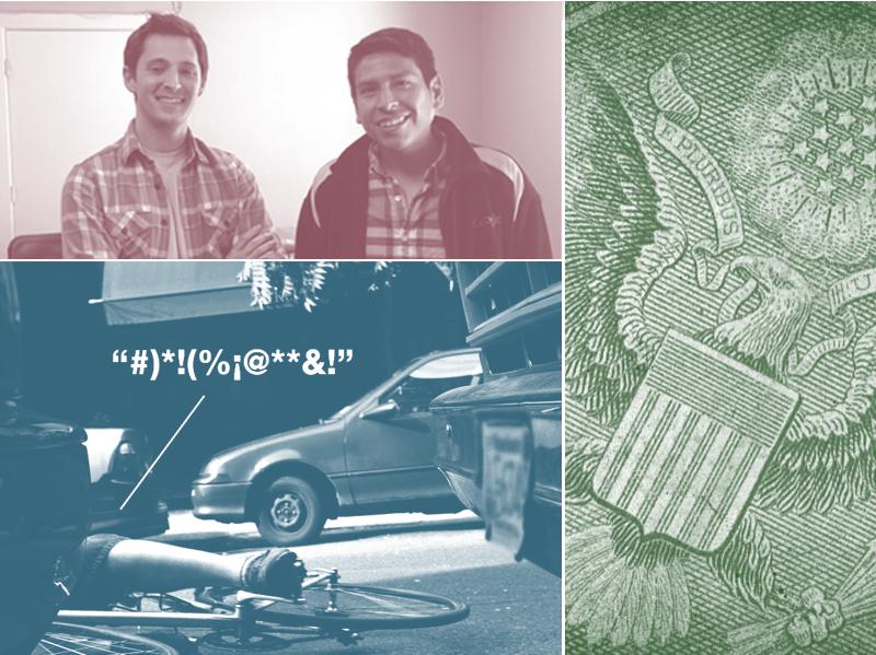 Alex Livingston and Eddie Santillan, the American dollar, a 2008 Massachusetts ad.