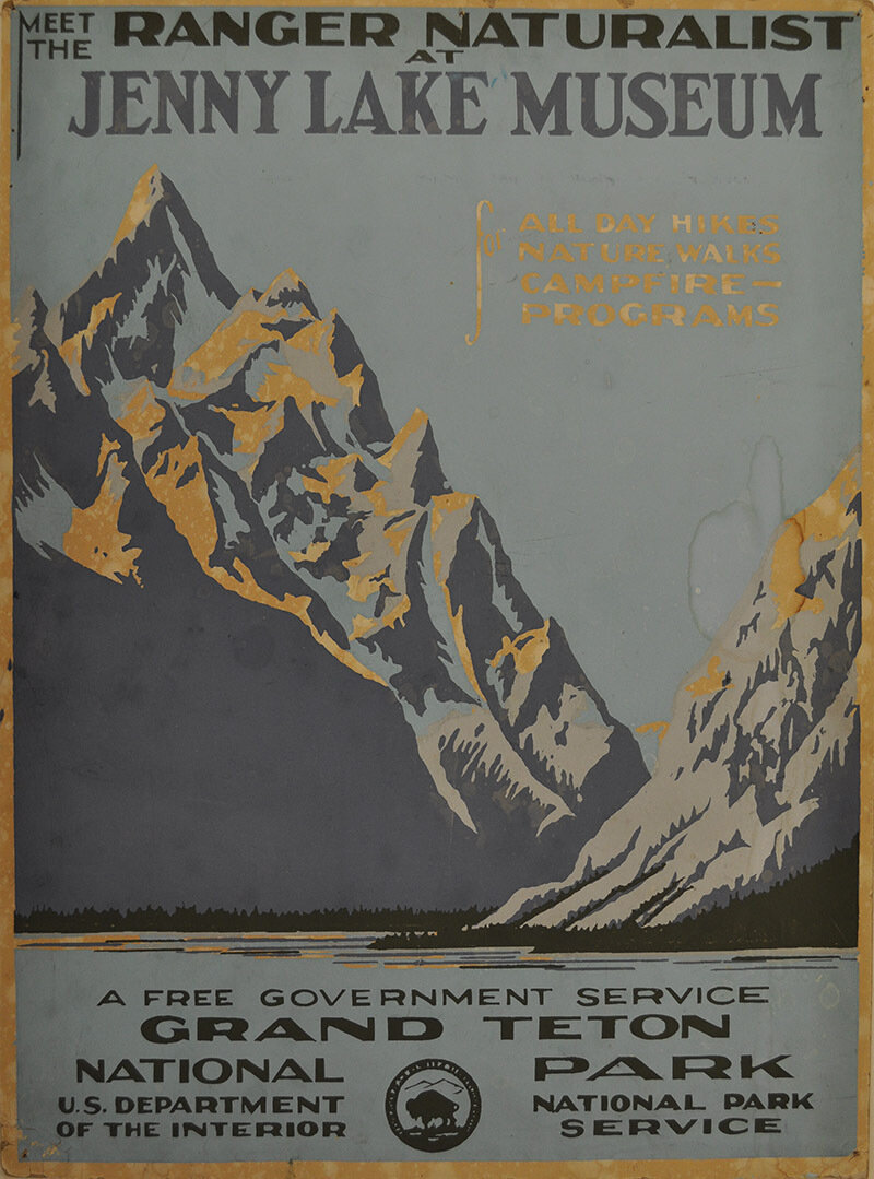 From Yellowstone To Grand Canyon Wpa Posters Celebrate National Parks Npr