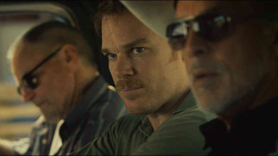 Sam Shepard (Russell), Michael C. Hall (Richard Dane), and Don Johnso