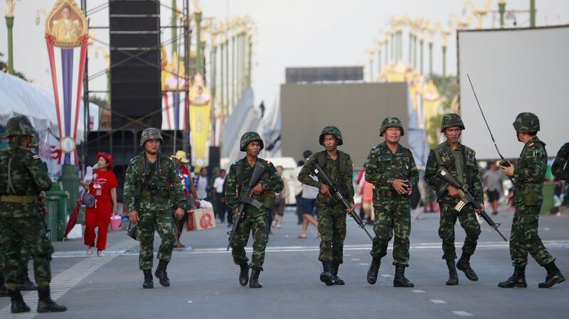 Why Does Thailand Have So Many Coups? : Parallels : NPR