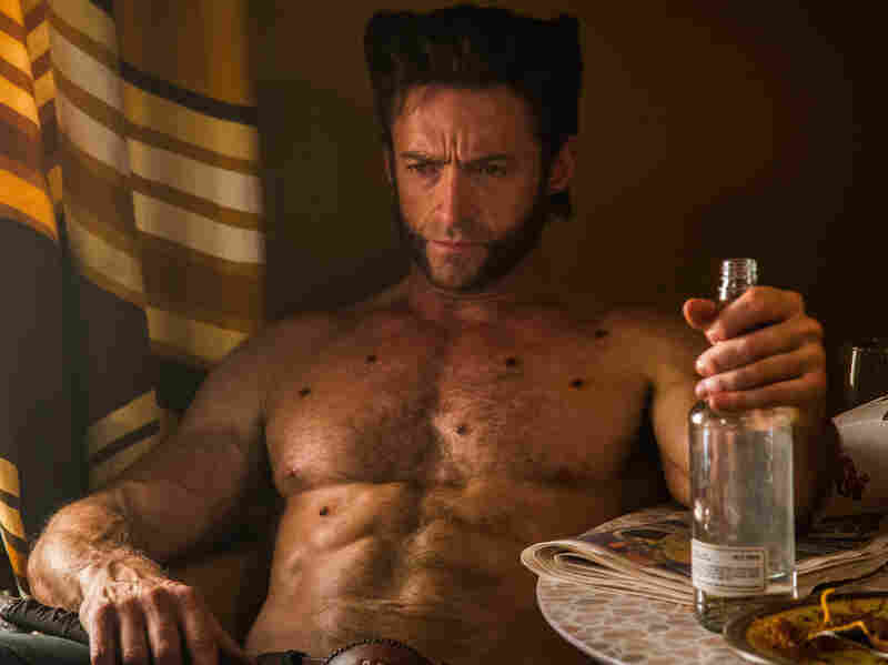 You're looking pensive, Wolverine (Hugh Jackman). And maybe full of ... holes?