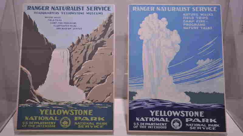 Yellowstone serigraphs, circa 1939.