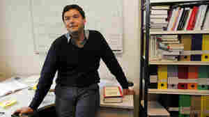 French economist and academic Thomas Piketty, in his book-lined office at the French School for Advanced Studies in the Social Sciences, in Paris, earlier this month.
