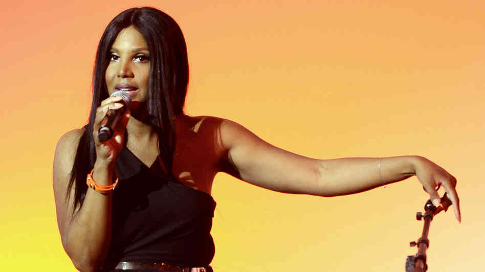 Toni Braxton performs at the 13th Annual Lupus LA Orange Ball on May 9, 2013, in Beverly Hills, Calif.
