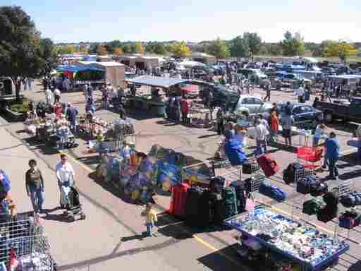 This flea market in Colorado Springs and the Obamacare exchanges are versions of the same thing — marketplaces where sellers display wares and shoppers browse and buy.