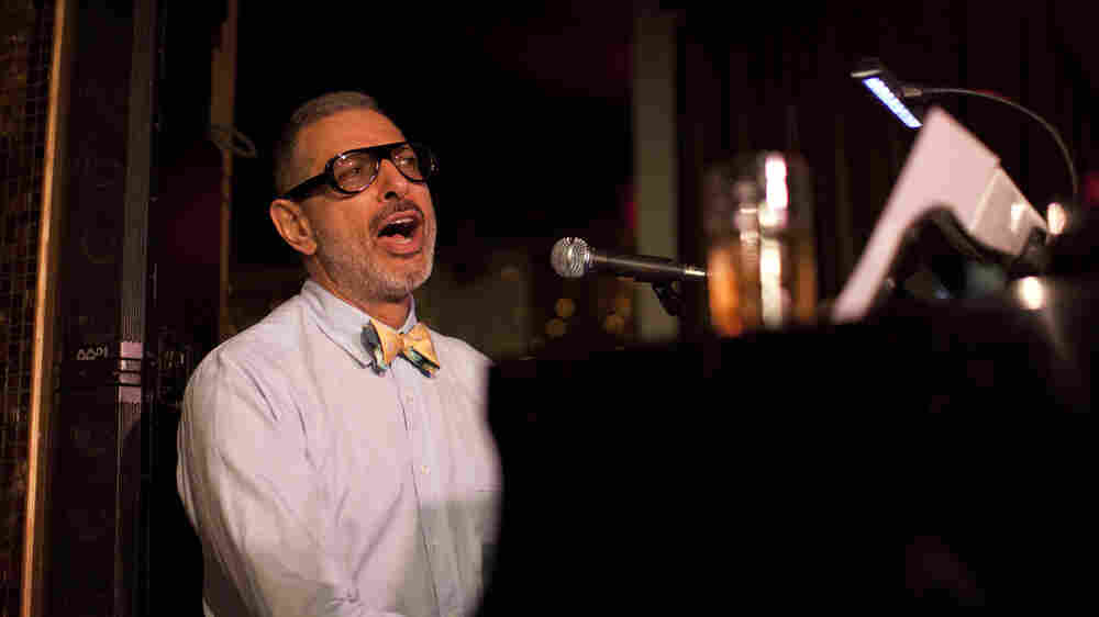 Jeff Goldblum Plays A Jazz Show Almost Every Week. No, Really.
