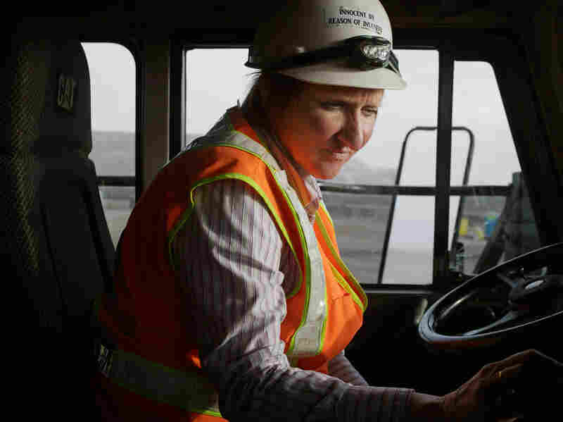 Alice, Haul Truck Driver, Newmont Mining Corporation, Carlin, Nevada 2012