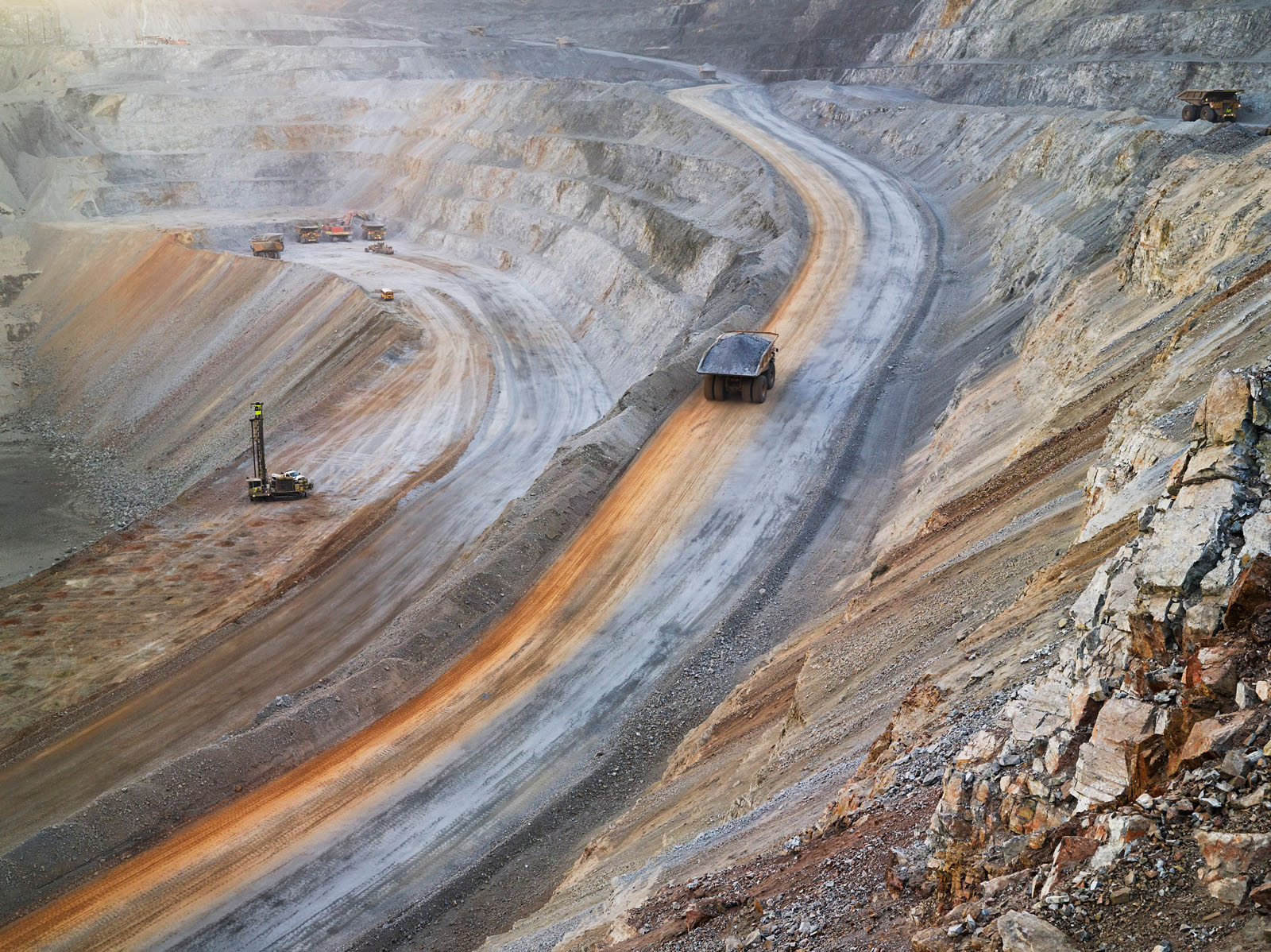 Surface Mining, Newmont Mining Corporation, Carlin, Nevada 2012