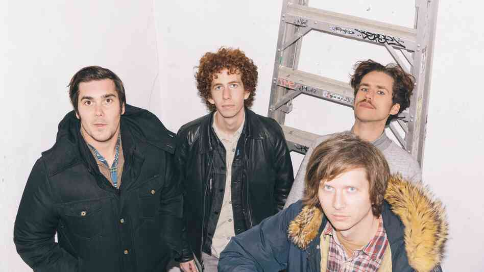 Parquet Courts' new album, Sunbathing Animal, comes out June 3.