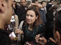 As Egyptians prepare for the presidential election Monday, Egypt's first female presidential candidate Bothaina Kamel says women must pay a price to participate in public life.