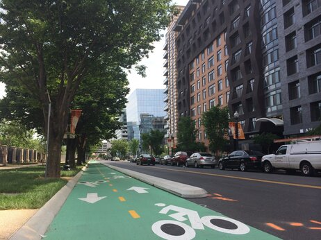 Bike lanes, coffee shops and dog parks draw people to the luxury apartments that are popping up in neighborhoods like NoMa in Washington, D.C.