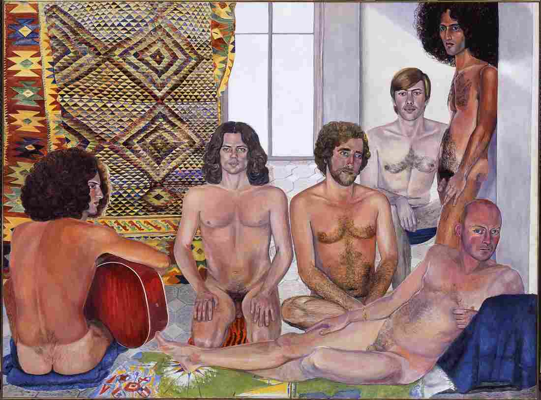In her 1973 work The Turkish Bath, Sylvia Sleigh challenged the way male artists painted female nudes.