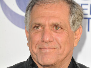 Leslie Moonves of CBS received $65.6 million in total compensation in 2013, an increase of 9 percent. CBS stock rose nearly 70 percent last year.