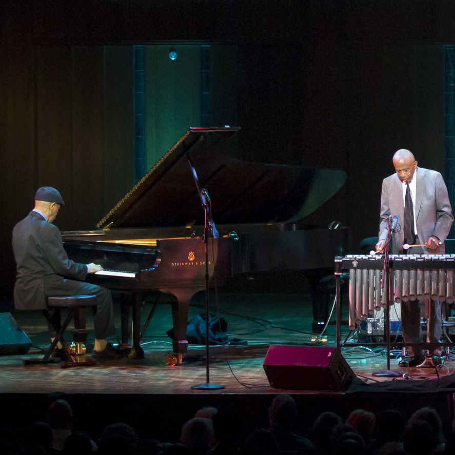 Bobby Hutcherson and McCoy Tyner in concert.