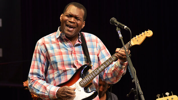 Robert Cray performed live in support of his latest album, In My Soul.