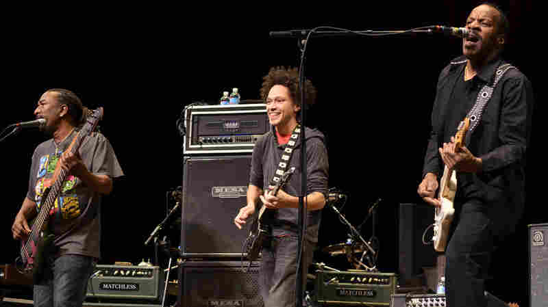 Dumpstaphunk appears on Mountain Stage, recorded live at the Culture Center Theater in Charleston.