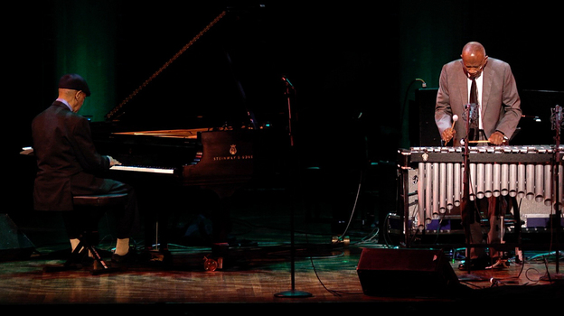 McCoy Tyner and Bobby Hutcherson perform at Blue Note at 75, The Concert. (NPR)