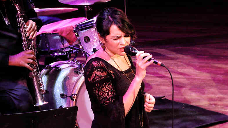 Norah Jones performs at Blue Note at 75,