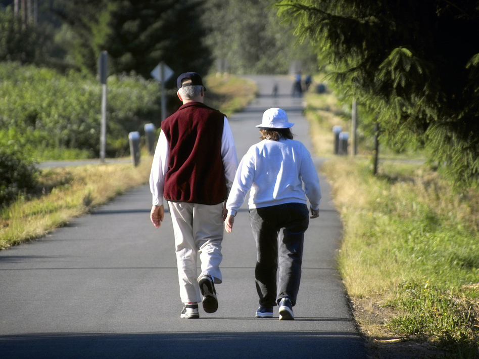 Walking: so simple, yet difficult for many people as they age. (Justin Horrocks/iStockphoto)