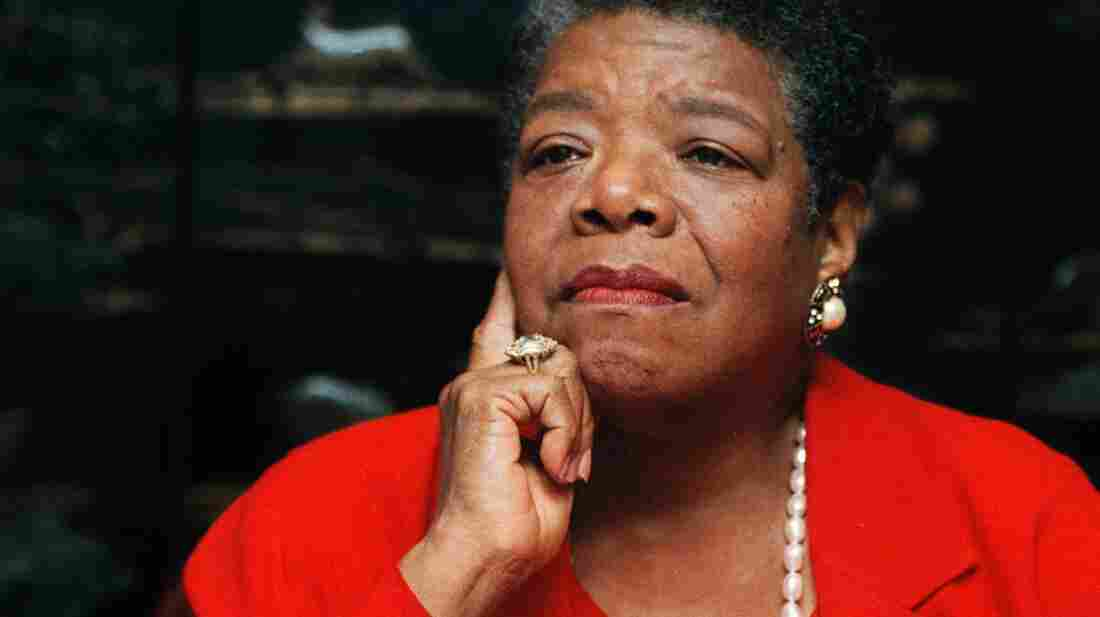 Maya Angelou talks about the poem she wrote for President Clinton's inauguration, from her office in Winston-Salem, N.C., in September 1996.