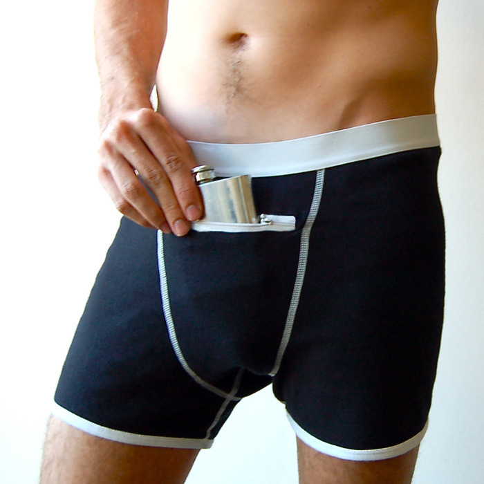 Check Out This Underwear With Pockets So You Can Stash Stuff