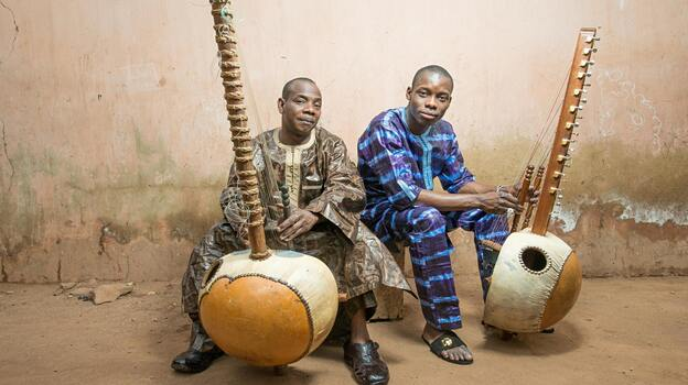 Toumani and Sidiki Diabaté from Mali. (Courtesy of the artists)