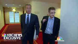 Former NSA contractor Edward Snowden spoke to NBC's Nightly News anchor Brian Williams in Moscow last week.